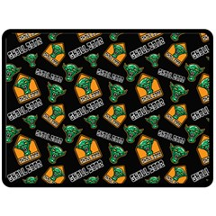 Halloween Ghoul Zone Icreate Double Sided Fleece Blanket (large)  by iCreate