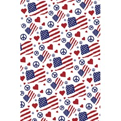 Peace Love America Icreate 5 5  X 8 5  Notebooks by iCreate