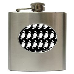 Footballs Icreate Hip Flask (6 Oz) by iCreate