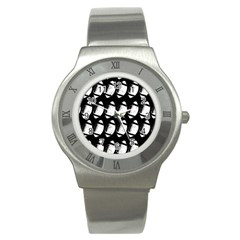 Footballs Icreate Stainless Steel Watch