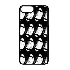 Footballs Icreate Apple Iphone 7 Plus Seamless Case (black) by iCreate