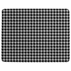 Friendly Houndstooth Pattern,black And White Jigsaw Puzzle Photo Stand (rectangular)