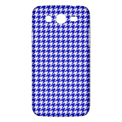 Friendly Houndstooth Pattern,blue Samsung Galaxy Mega 5 8 I9152 Hardshell Case  by MoreColorsinLife