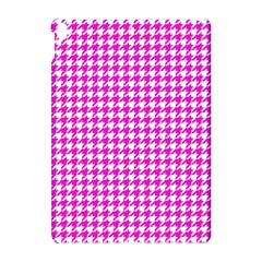 Friendly Houndstooth Pattern,pink Apple Ipad Pro 10 5   Hardshell Case