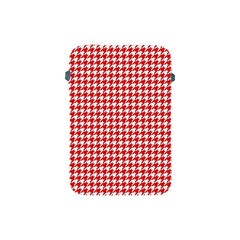 Friendly Houndstooth Pattern,red Apple Ipad Mini Protective Soft Cases by MoreColorsinLife
