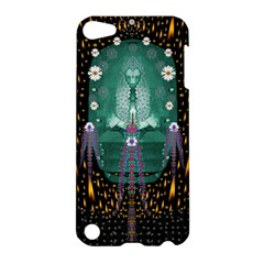 Temple Of Yoga In Light Peace And Human Namaste Style Apple Ipod Touch 5 Hardshell Case by pepitasart