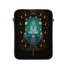 Temple Of Yoga In Light Peace And Human Namaste Style Apple Ipad 2/3/4 Protective Soft Cases by pepitasart