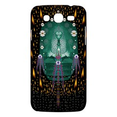 Temple Of Yoga In Light Peace And Human Namaste Style Samsung Galaxy Mega 5 8 I9152 Hardshell Case  by pepitasart
