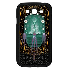 Temple Of Yoga In Light Peace And Human Namaste Style Samsung Galaxy Grand Duos I9082 Case (black) by pepitasart