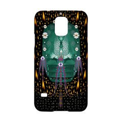 Temple Of Yoga In Light Peace And Human Namaste Style Samsung Galaxy S5 Hardshell Case  by pepitasart