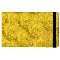 Summer Yellow Roses Dancing In The Season Apple Ipad 2 Flip Case by pepitasart