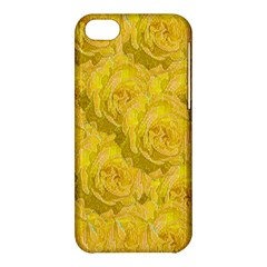 Summer Yellow Roses Dancing In The Season Apple Iphone 5c Hardshell Case by pepitasart
