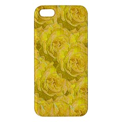 Summer Yellow Roses Dancing In The Season Iphone 5s/ Se Premium Hardshell Case by pepitasart