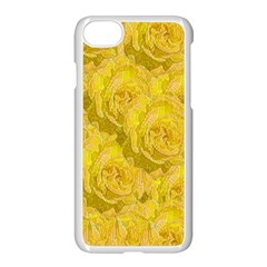 Summer Yellow Roses Dancing In The Season Apple Iphone 7 Seamless Case (white) by pepitasart