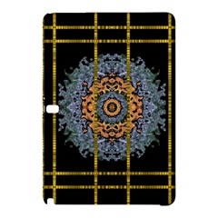 Blue Bloom Golden And Metal Samsung Galaxy Tab Pro 10 1 Hardshell Case by pepitasart