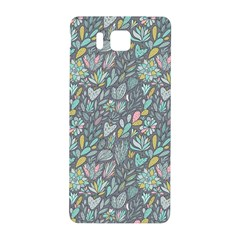 Cactus Pattern Green  Samsung Galaxy Alpha Hardshell Back Case by Mishacat