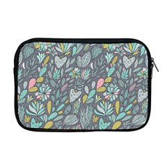 Cactus Pattern Green  Apple Macbook Pro 17  Zipper Case by Mishacat