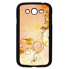 Wonderful Floral Design In Soft Colors Samsung Galaxy Grand Duos I9082 Case (black) by FantasyWorld7