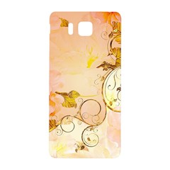Wonderful Floral Design In Soft Colors Samsung Galaxy Alpha Hardshell Back Case by FantasyWorld7