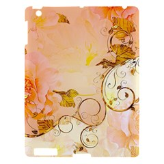 Wonderful Floral Design In Soft Colors Apple Ipad 3/4 Hardshell Case by FantasyWorld7