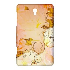 Wonderful Floral Design In Soft Colors Samsung Galaxy Tab S (8 4 ) Hardshell Case  by FantasyWorld7