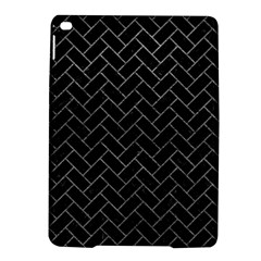 Brick2 Black Marble & Gray Leather Ipad Air 2 Hardshell Cases by trendistuff
