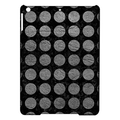 Circles1 Black Marble & Gray Leather Ipad Air Hardshell Cases by trendistuff