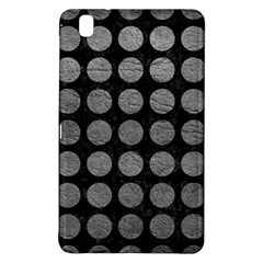 Circles1 Black Marble & Gray Leather Samsung Galaxy Tab Pro 8 4 Hardshell Case by trendistuff