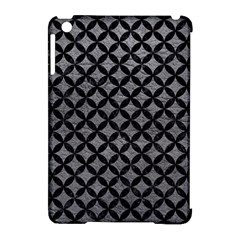 Circles3 Black Marble & Gray Leather (r) Apple Ipad Mini Hardshell Case (compatible With Smart Cover) by trendistuff