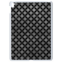 Circles3 Black Marble & Gray Leather (r) Apple Ipad Pro 9 7   White Seamless Case by trendistuff