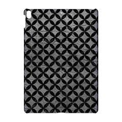 Circles3 Black Marble & Gray Leather (r) Apple Ipad Pro 10 5   Hardshell Case