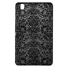 Damask2 Black Marble & Gray Leather (r) Samsung Galaxy Tab Pro 8 4 Hardshell Case by trendistuff