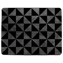 Triangle1 Black Marble & Gray Leather Jigsaw Puzzle Photo Stand (rectangular) by trendistuff
