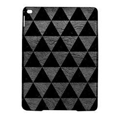 Triangle3 Black Marble & Gray Leather Ipad Air 2 Hardshell Cases by trendistuff