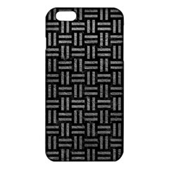 Woven1 Black Marble & Gray Leather Iphone 6 Plus/6s Plus Tpu Case by trendistuff