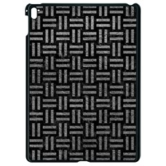 Woven1 Black Marble & Gray Leather Apple Ipad Pro 9 7   Black Seamless Case by trendistuff