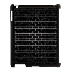 Brick1 Black Marble & Gray Metal 1 Apple Ipad 3/4 Case (black) by trendistuff