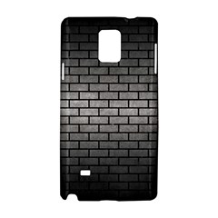 Brick1 Black Marble & Gray Metal 1 (r) Samsung Galaxy Note 4 Hardshell Case by trendistuff