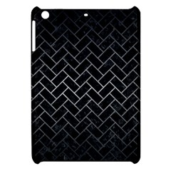 Brick2 Black Marble & Gray Metal 1 Apple Ipad Mini Hardshell Case by trendistuff