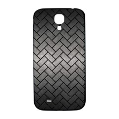 Brick2 Black Marble & Gray Metal 1 (r) Samsung Galaxy S4 I9500/i9505  Hardshell Back Case by trendistuff