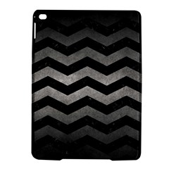 Chevron3 Black Marble & Gray Metal 1 Ipad Air 2 Hardshell Cases by trendistuff