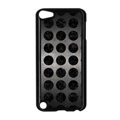 Circles1 Black Marble & Gray Metal 1 (r) Apple Ipod Touch 5 Case (black) by trendistuff