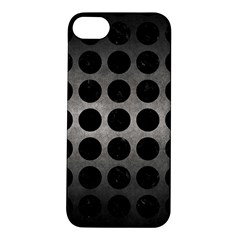 Circles1 Black Marble & Gray Metal 1 (r) Apple Iphone 5s/ Se Hardshell Case by trendistuff
