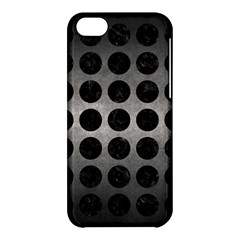 Circles1 Black Marble & Gray Metal 1 (r) Apple Iphone 5c Hardshell Case by trendistuff