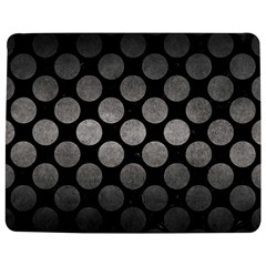 Circles2 Black Marble & Gray Metal 1 Jigsaw Puzzle Photo Stand (rectangular) by trendistuff