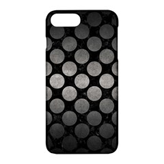 Circles2 Black Marble & Gray Metal 1 Apple Iphone 7 Plus Hardshell Case by trendistuff