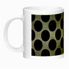 Circles2 Black Marble & Gray Metal 1 (r) Night Luminous Mugs by trendistuff