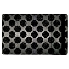 Circles2 Black Marble & Gray Metal 1 (r) Apple Ipad Pro 12 9   Flip Case by trendistuff