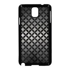 Circles3 Black Marble & Gray Metal 1 (r) Samsung Galaxy Note 3 Neo Hardshell Case (black) by trendistuff