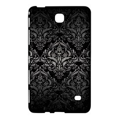Damask1 Black Marble & Gray Metal 1 Samsung Galaxy Tab 4 (7 ) Hardshell Case  by trendistuff